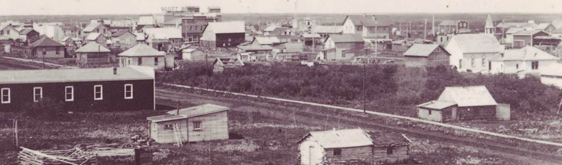 Historical view of Lloydminster