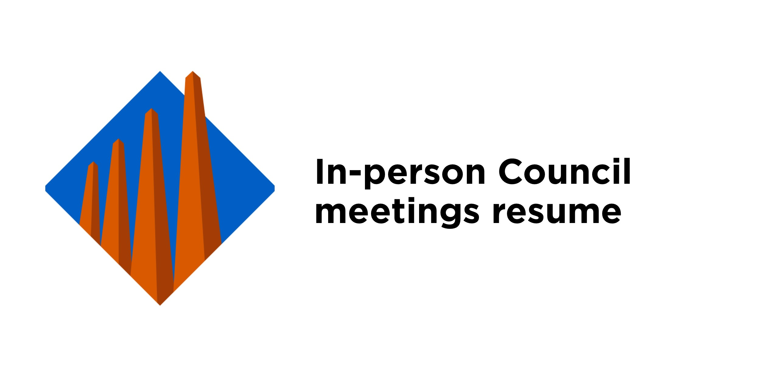 In-person council meetings resume