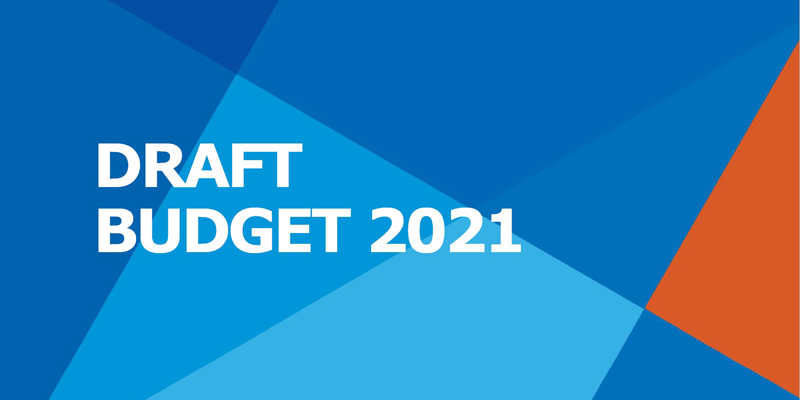 Draft budget 2021