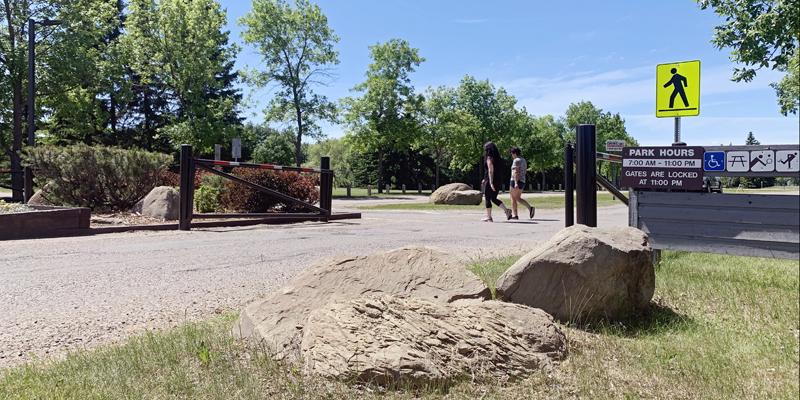 Bud Miller All Seasons Park Entrance