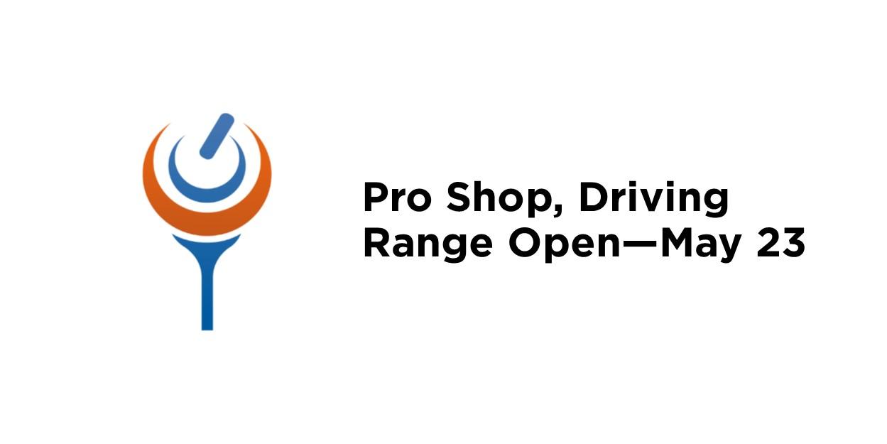 Driving Range open
