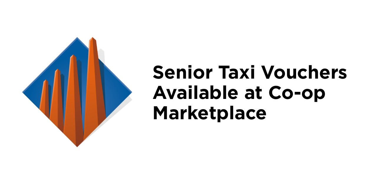 Taxi Vouchers available at Lloydminster Co-op Marketplace