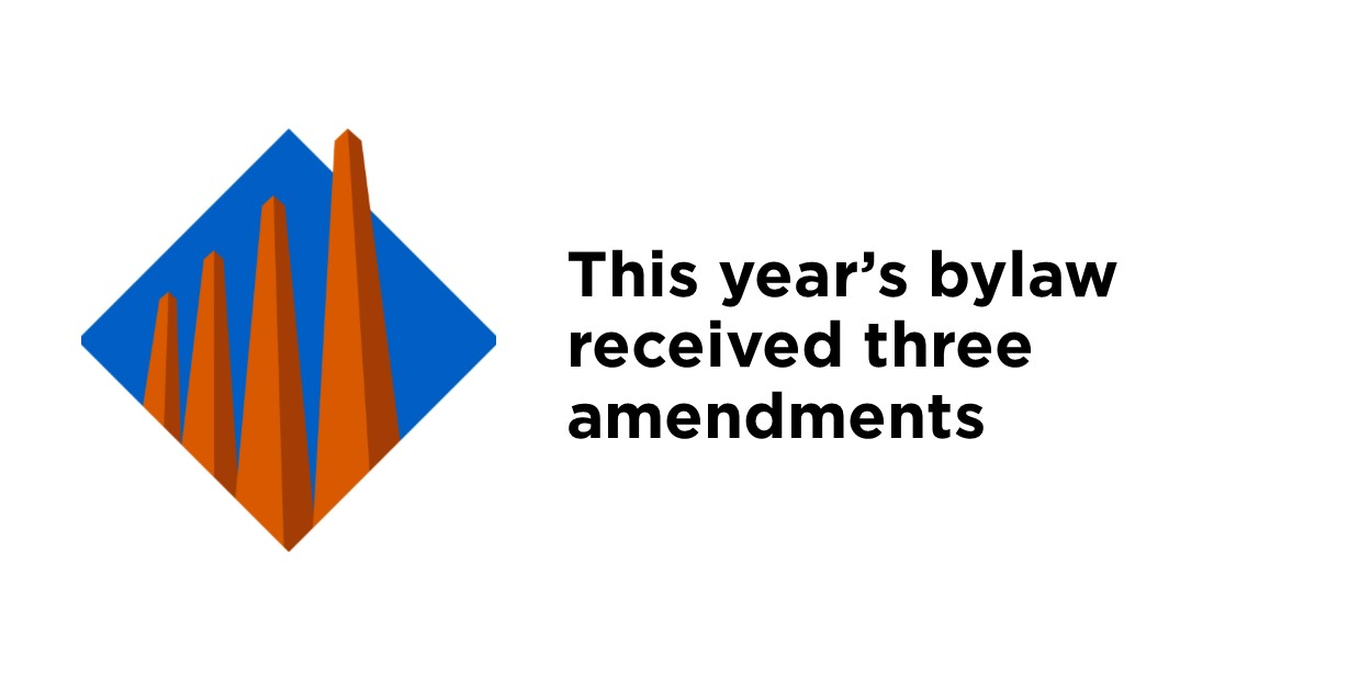 Election Bylaw amendments
