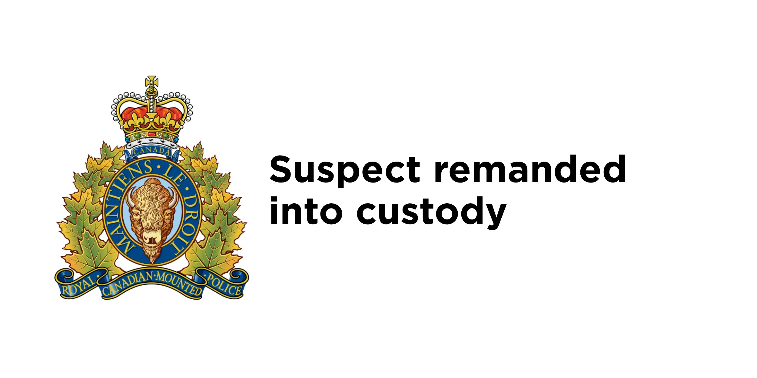 RCMP arrest male after stabbing