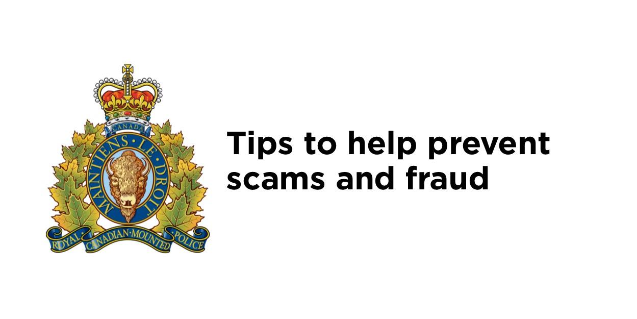 RCMP Fraud prevention