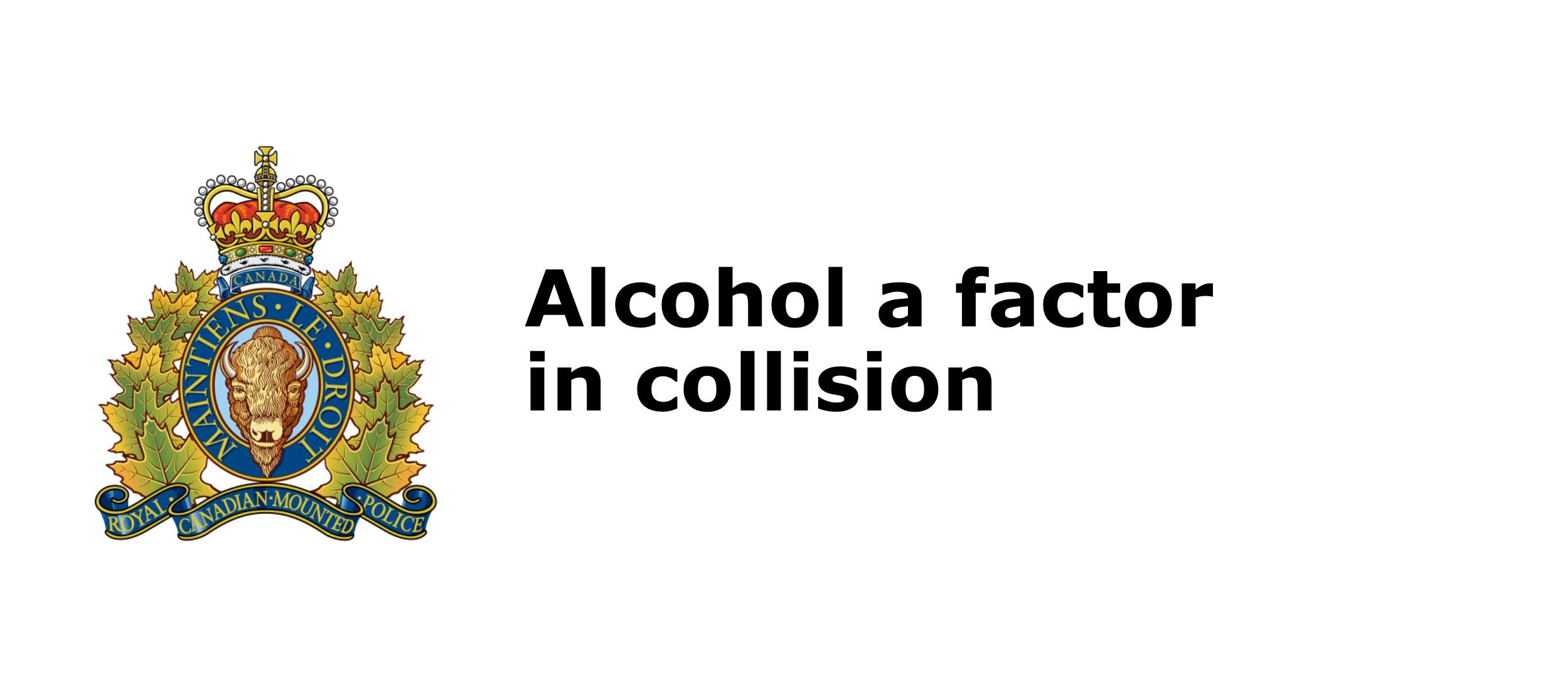 RCMP arrest driver after collision