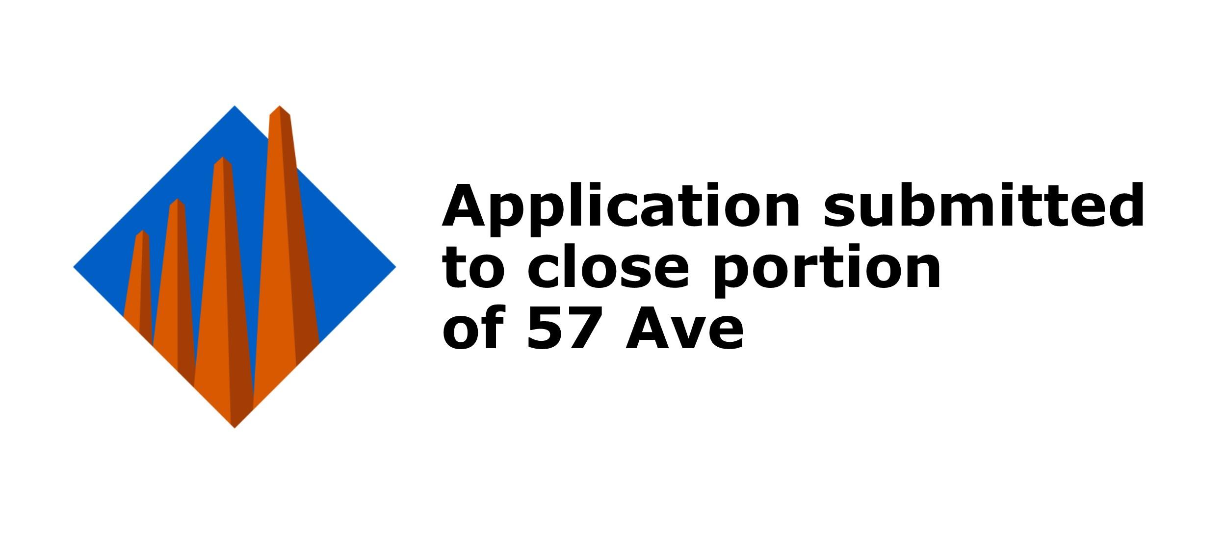 Road closure proposed for 57 avenue