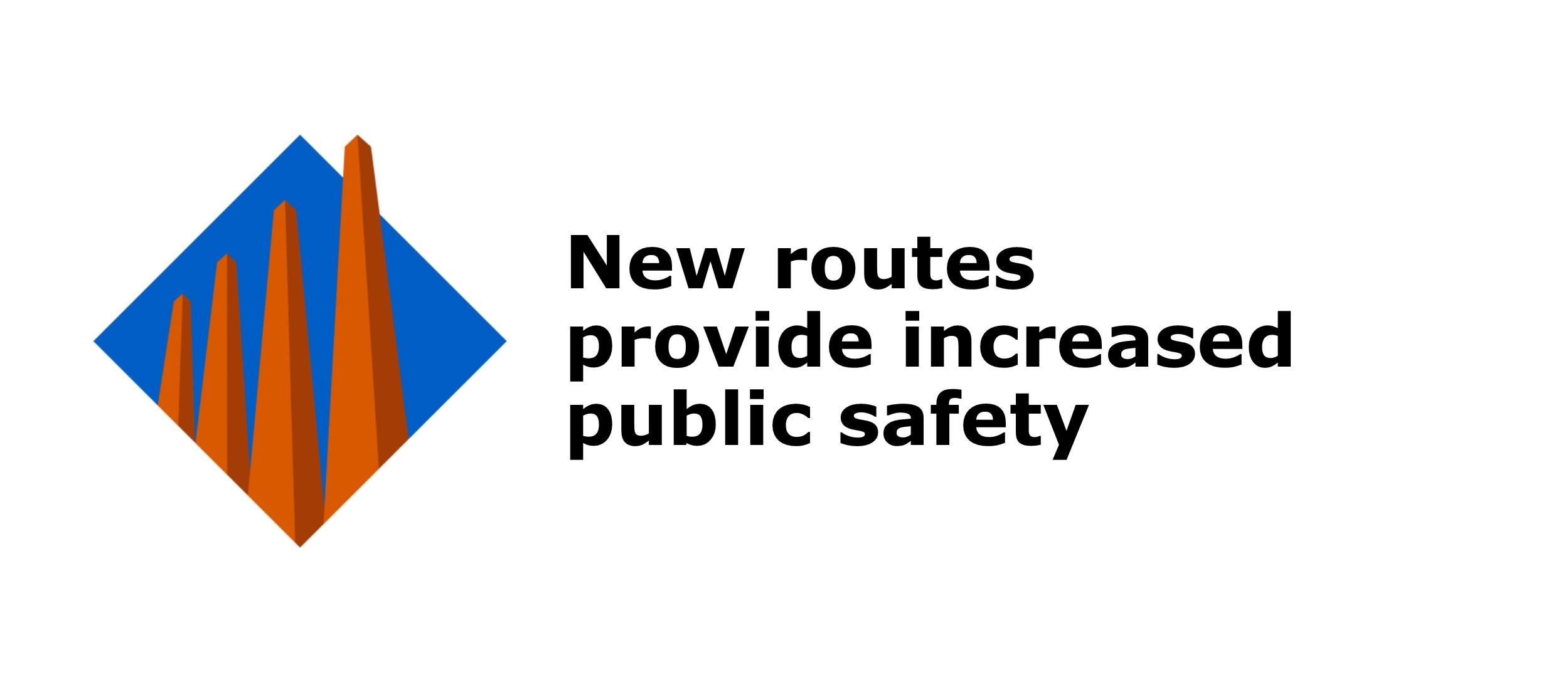 Dangerous goods truck routes