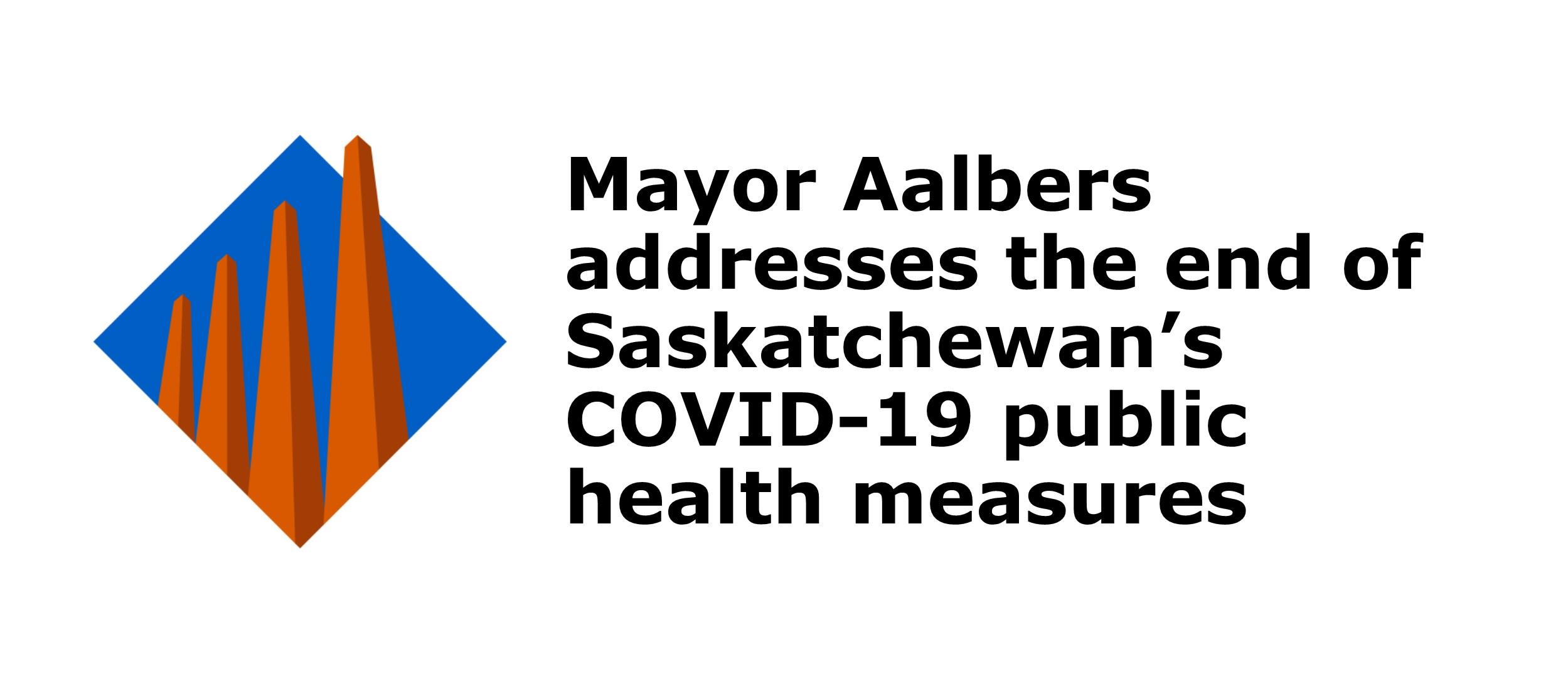 Mayor Gerald Aalbers addresses COVID-19