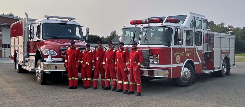 Lloydminster Fire Services mutual aid in Buffalo Narrows