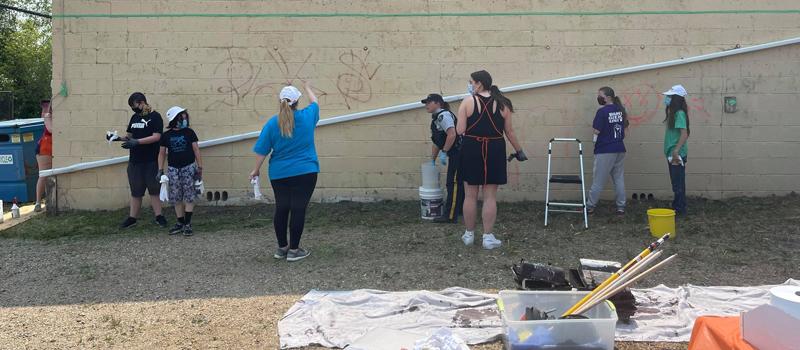 2021 Graffiti Cleanup