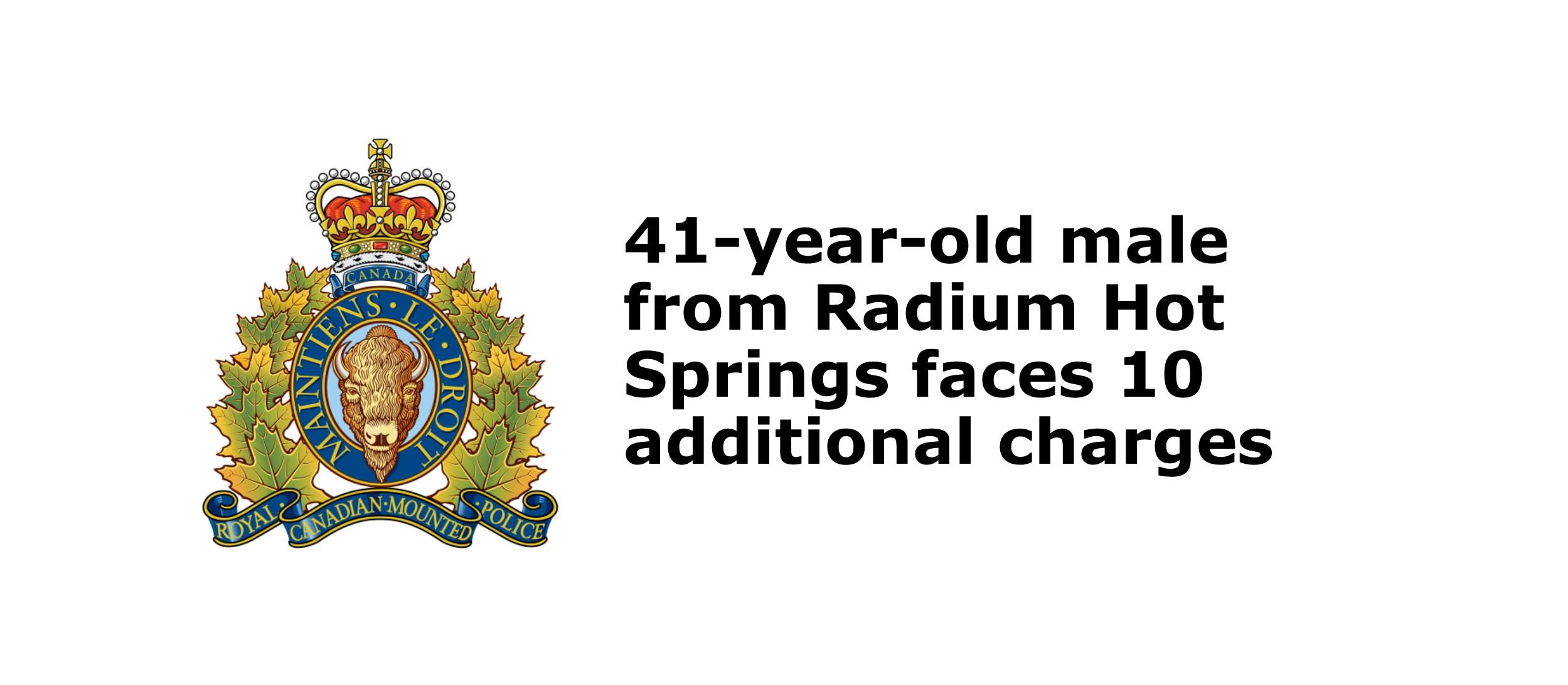 RCMP arrest BC man