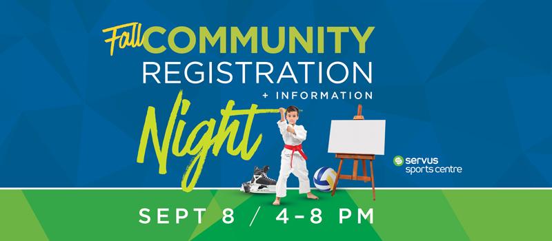 Community Registration Night
