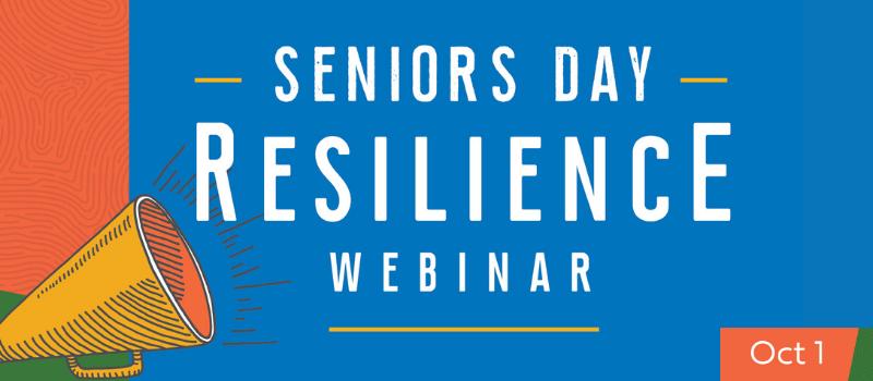 Seniors Day webinar
