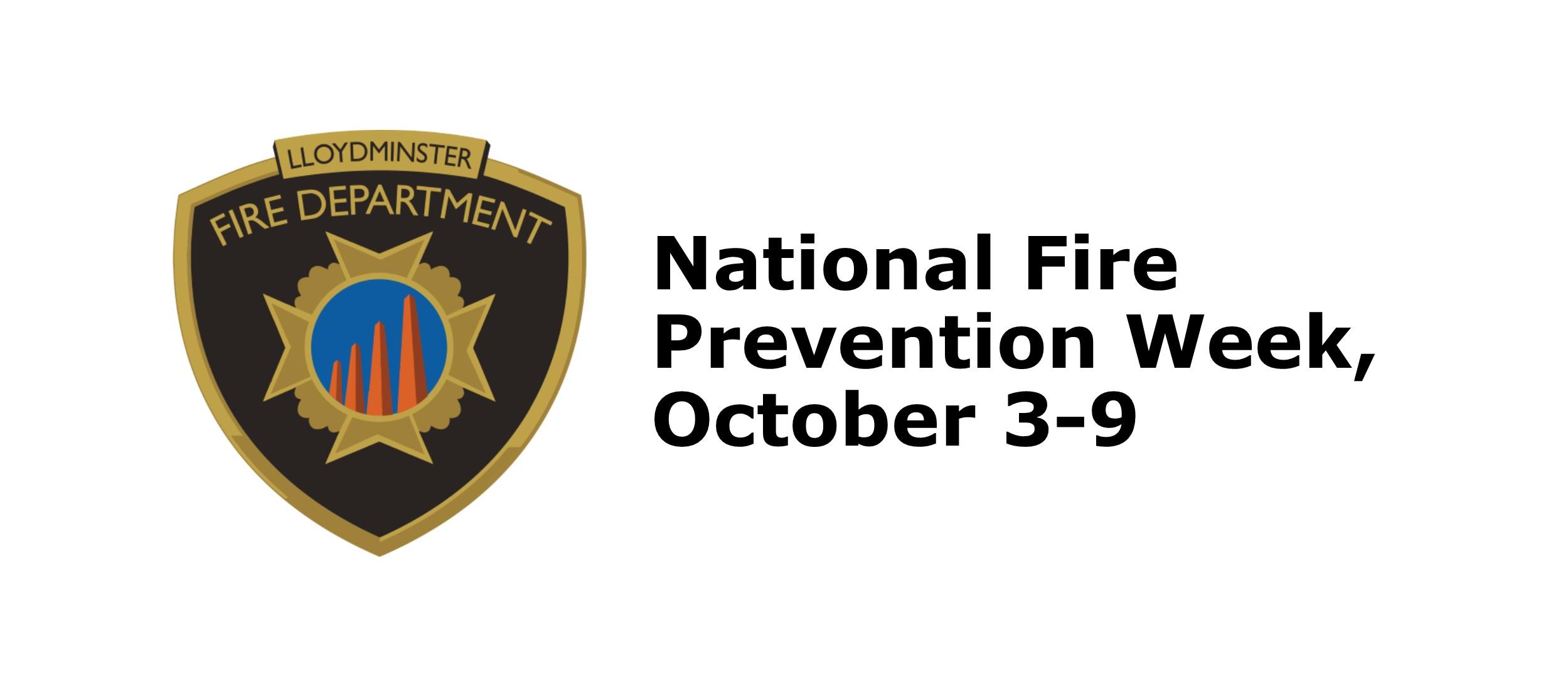 Lloydminster Fire Department Fire Prevention Week