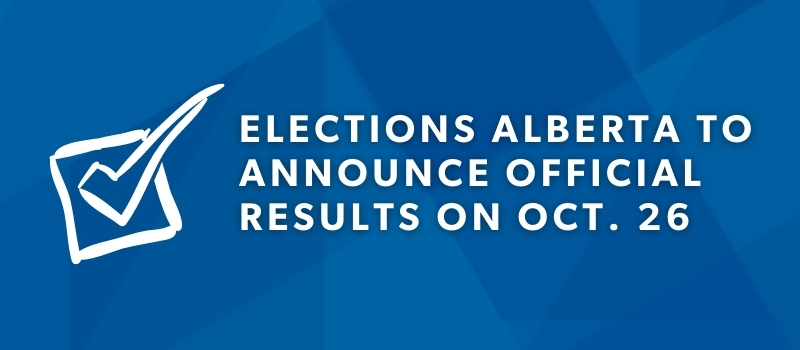 Unofficial results for Alberta senate election and referendum vote