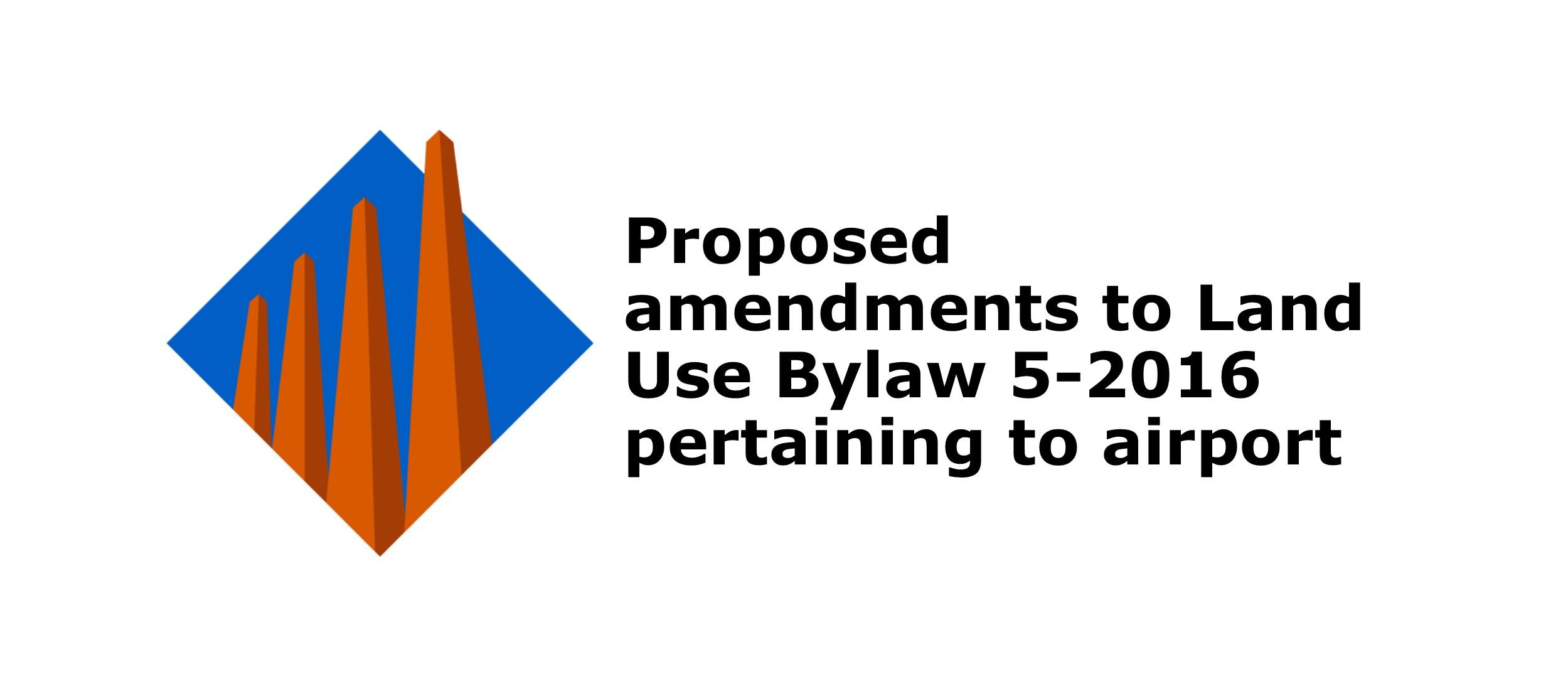 Land Use bylaw proposed amendments