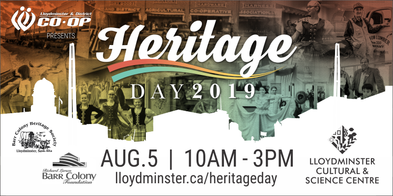 Heritage Day 2019 presented by the Lloydminster & District Co-op