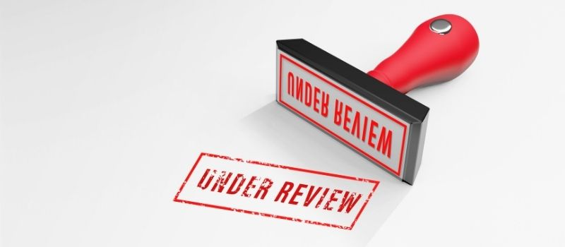 Application under review