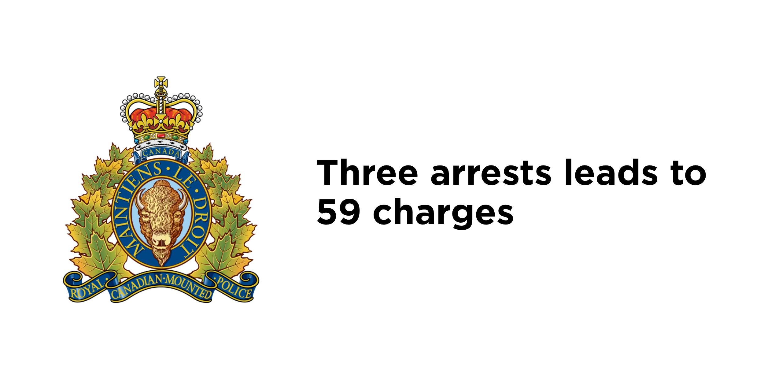 RCMP arrest 3