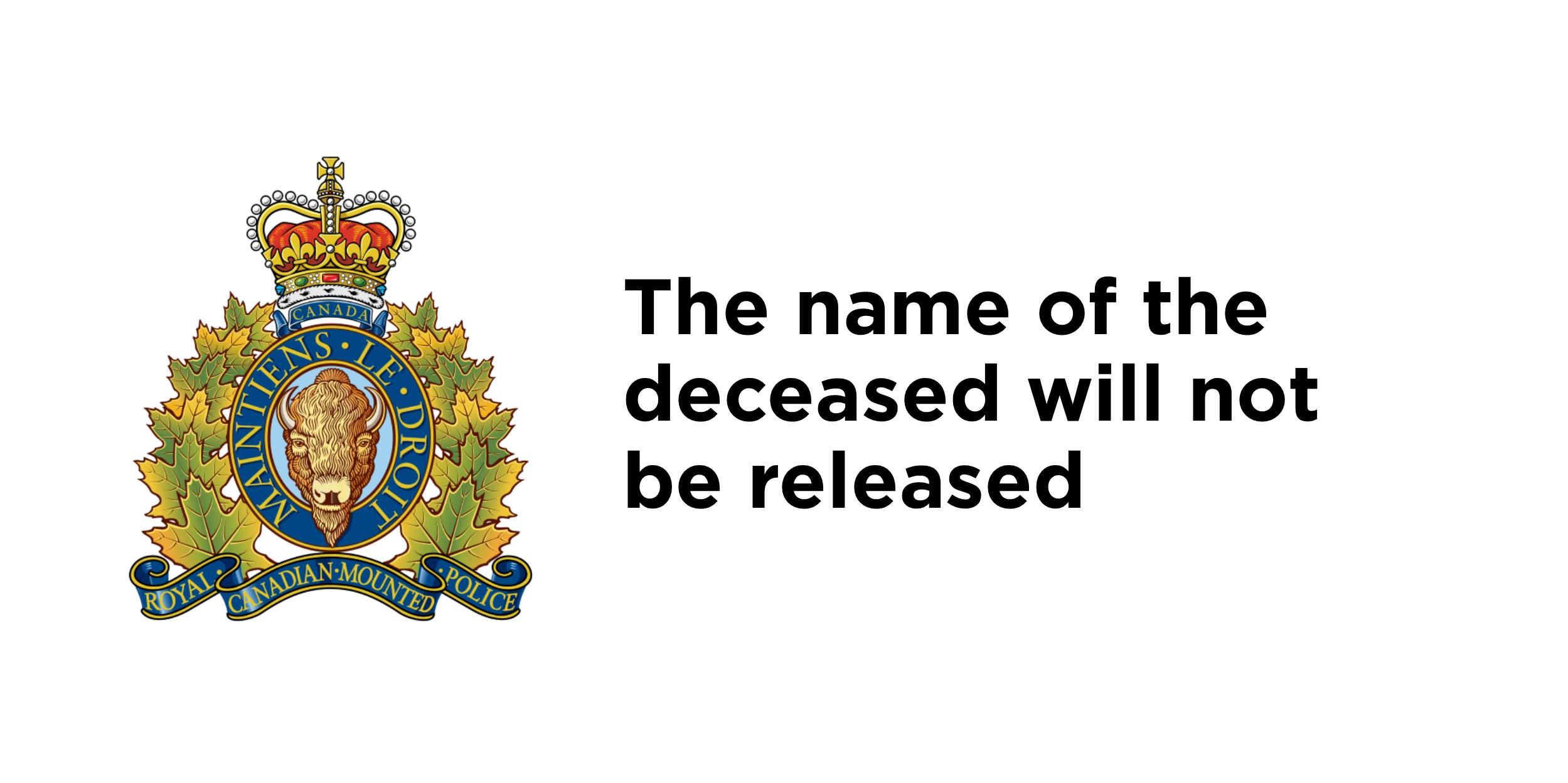 RCMP investigate fatal collision