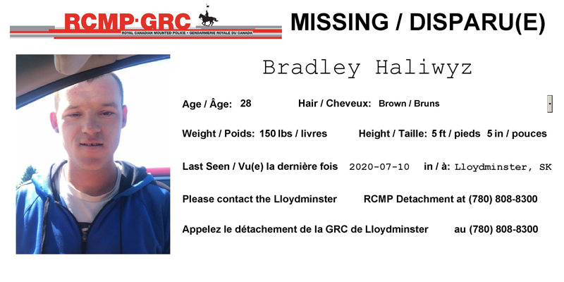 Missing: Bradley Haliwyz