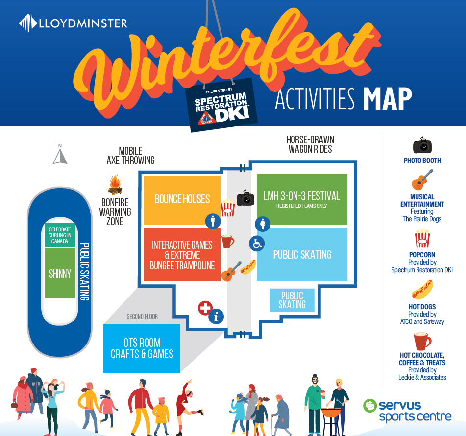 Winterfest Event Map 2020