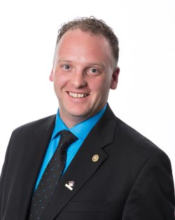 Councillor Aaron Buckingham